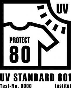 Logo des UV-Standards 801